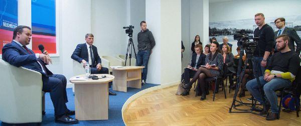 Проведение пресс-конференции губернатора на площадке «Новгородских ведомостей» стало уже традицией