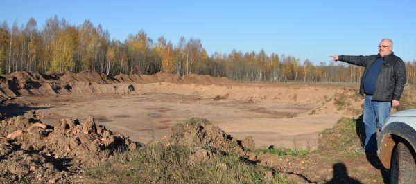 На месте карьера возле деревни Дуброво мог бы расти картофель