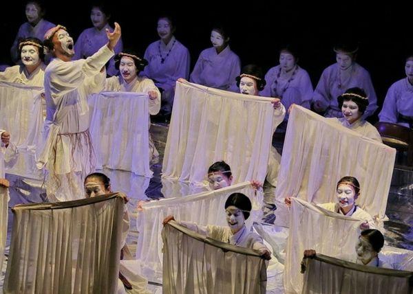 Японский эпос «Кодзики» на новгородской сцене