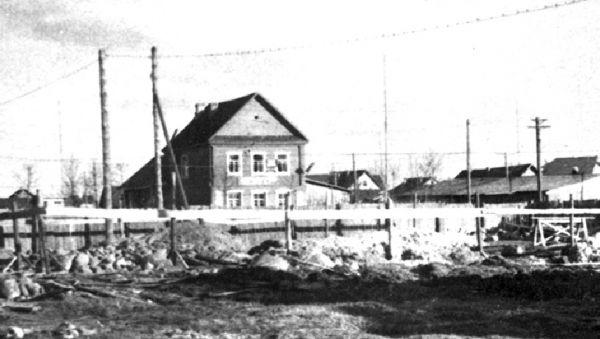 Редакция газеты (дом в центре). 1960 год