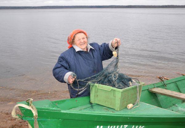 Антонина Черменина: «Выходя в озеро, мы забываем о возрасте, и силы у нас прибавляются»