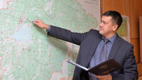 Рашид Валиев: «Земля — главный ресурс области, и она должна работать по назначению»