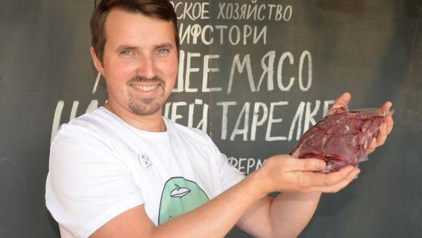 Олег уверен, что мраморное мясо может быть в рационе не только гурманов