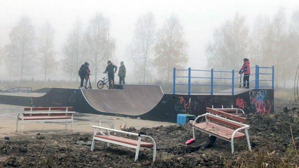 Отремонтировать скейт-площадку за счёт подрядчика вряд ли получится — не гарантийный случай