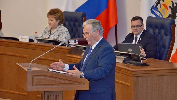 По словам докладчика, Анатолия Федотова, в окончательный вариант проекта бюджета вошли самые значимые расходные направления