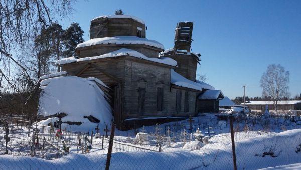 Церковь Покрова Богородицы в пригороде Сольцов — Муссы