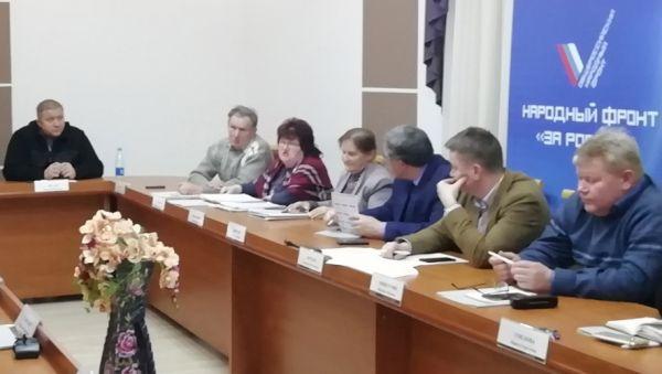 На круглом столе ОНФ медицинское сообщество высказалось за изменения в работе Шимской ЦРБ