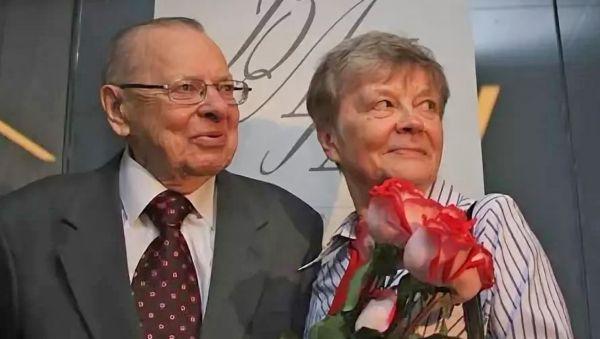 На вручении премии А.И. Солженицына. 2010 год