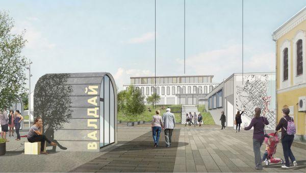 В Валдае планируют благоустроить улицу Народную и площадь Свободы