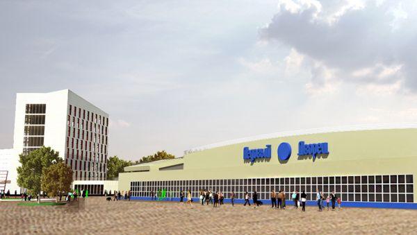 Тренировочный каток в Великом Новгороде построят в 2020 году