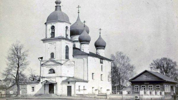 Церковь Фёдора Стратилата на Щиркове улице.  Фотография начала XX в.