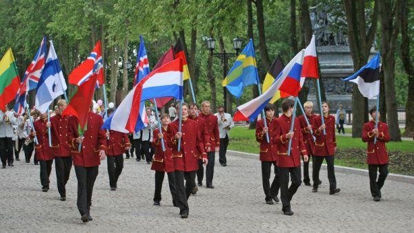 В 2009 году Ганзейские дни в Новгороде объединили представителей разных стран