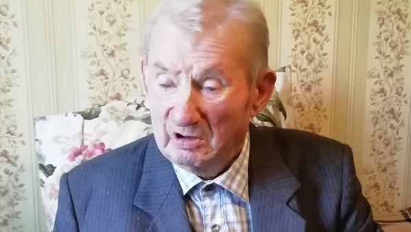 Симон Григорьевич в мае отпразднует 99-летие