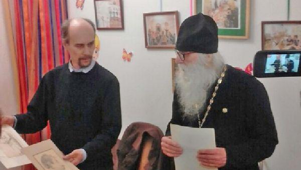 Отец Георгий продолжает разбирать архив художника Василия Ушакова