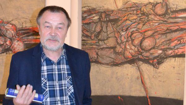 В новгородском Центре современного искусства выставка «Мифологии» Александра Загоскина продлится до 9 июня