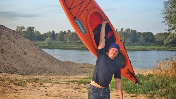 В следующем году Никита мечтает организовать в Новгородской области длинный заплыв на каяках