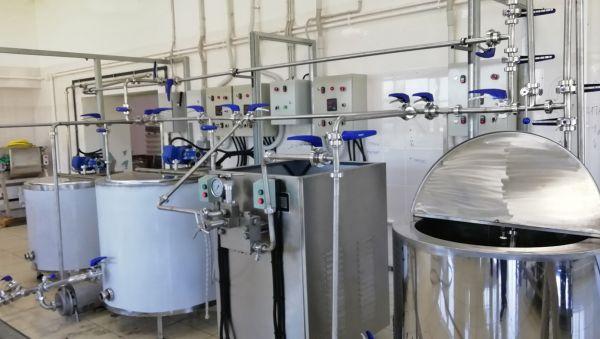 Для запуска цеха по производству молока, творога и сметаны всё готово