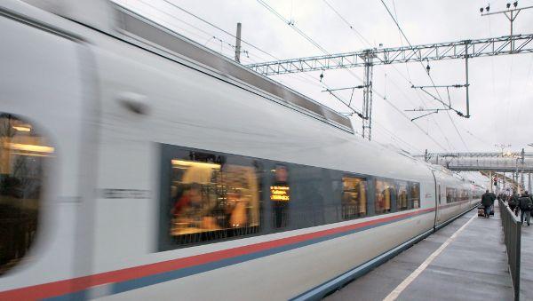 В РЖД заявили, что по ВСМ из Москвы в Петербург можно будет доехать в два раза быстрее, чем сейчас на «Сапсане»