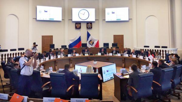 На съезд приехали предприниматели из всех регионов России
