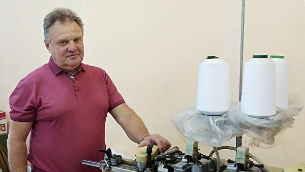 Вся жизнь Виктора Филатова связана с текстильным производством
