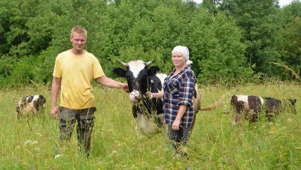 У Сергея и Екатерины Григорьевых большие планы по развитию своего крестьянского хозяйства