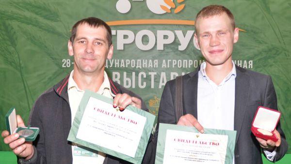 Игорь Лаврентьев и Илья Корешков — лучшие фермеры России
