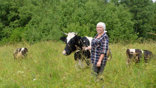 Екатерина Григорьева: «Мне нравится жить в деревне. А научиться можно всему, было бы желание»