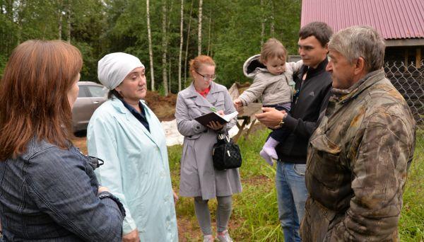 Разговор с Дмитрием Тихомировым (на фото — второй справа) получился интересным, главное — результативным