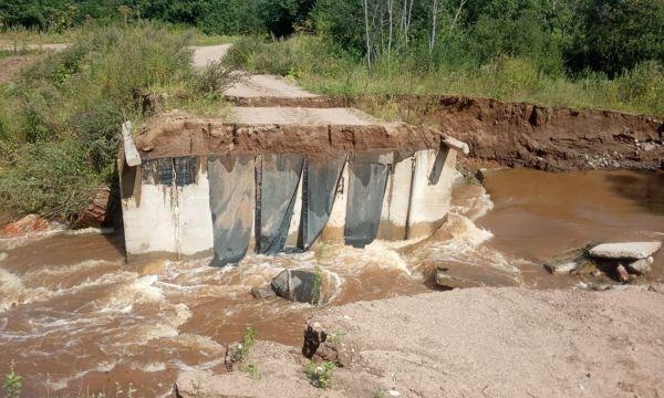 В Марёвском районе нужно восстановить три переправы