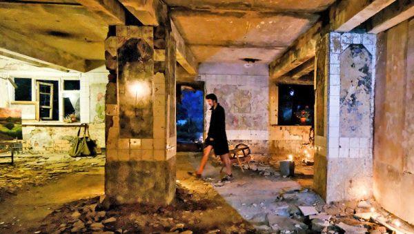 Заброшенное здание превратилось в арт-пространство