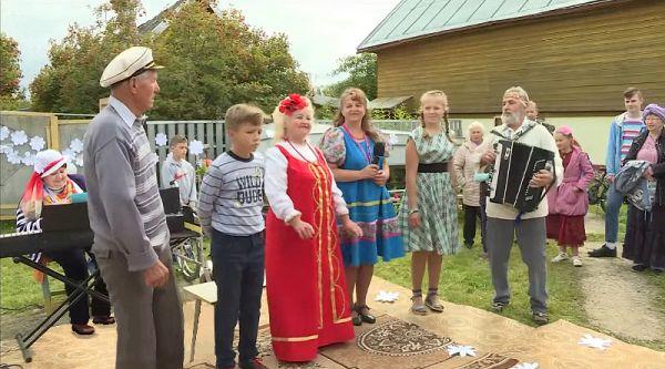 Фестиваль народного творчества в Замленье проводится в третий раз и с каждым годом становится всё масштабнее
