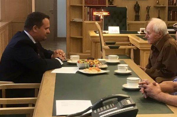 Одной из главных встреч минувшей недели Андрей Никитин назвал встречу с Владимиром Ивановичем Конкиным — новгородцем, ветераном Великой Отечественной войны
