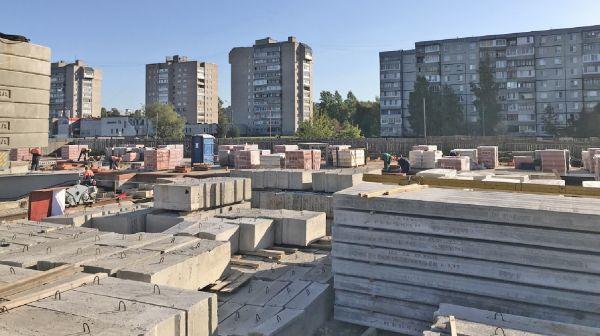 Растут новые жилые комплексы в Великом Новгороде