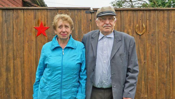Алексей Дмитриевич с дочерью Любовью
