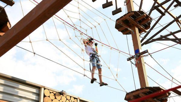 Если в соревнованиях туристов главное — быстрее всех преодолеть препятствие, то здесь — проверить свои физические возможности
