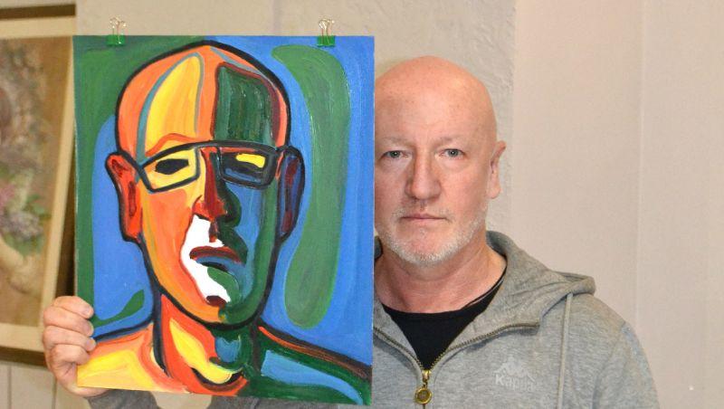 Олег Саулов: художник и его автопортрет