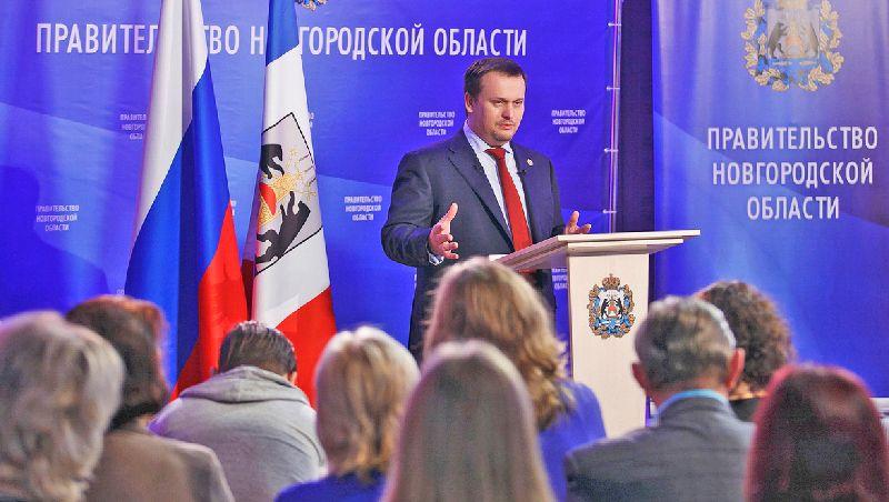 Пресс-конференция Андрея НИКИТИНА собрала рекордное количество журналистов