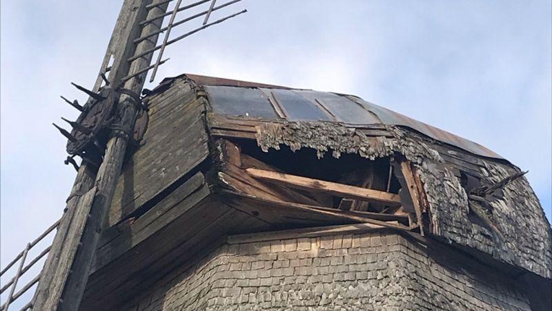 Из-за полученных разрушений работа мельницы-музея остановлена