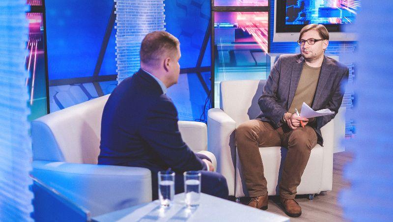 Руководителем проекта «Новгородское телевидение. Главный эфир» стал журналист Евгений Янин