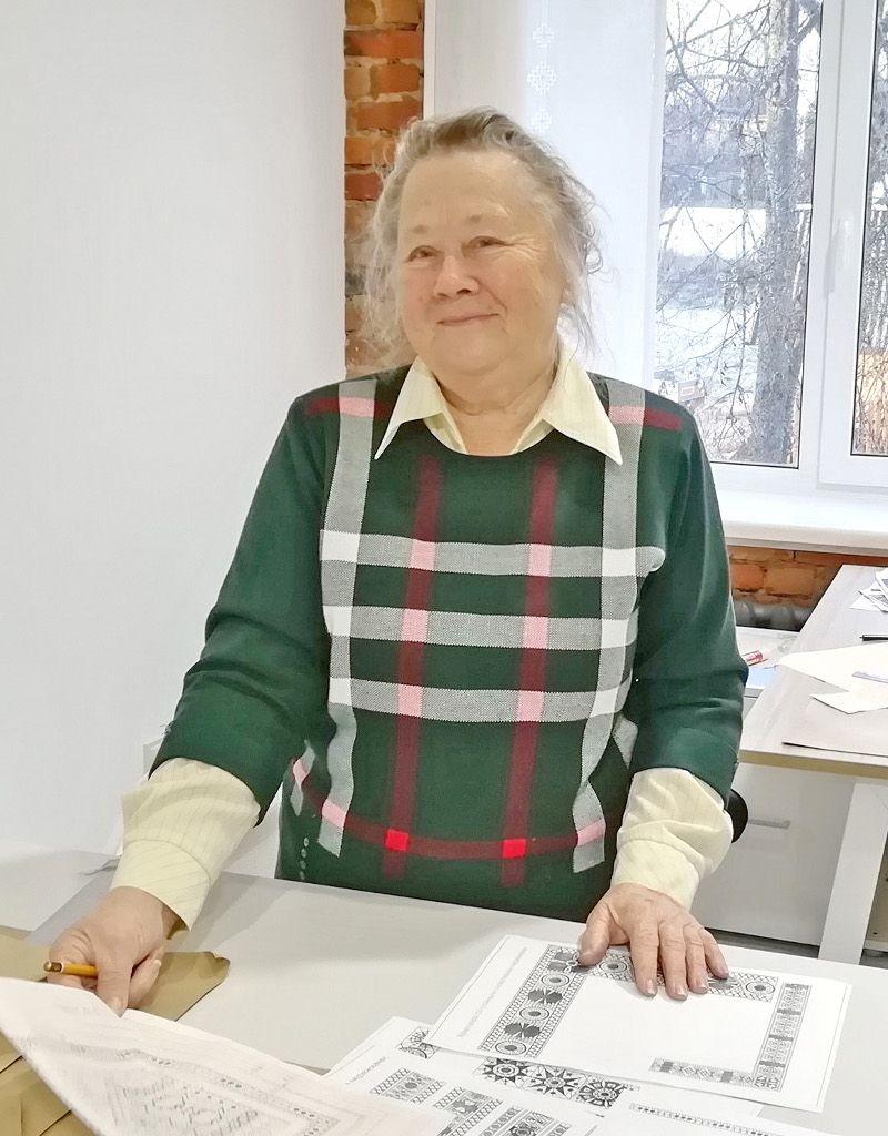 Благодаря стараниям Марии Афанасьевой сохранены традиции крестецкого промысла
