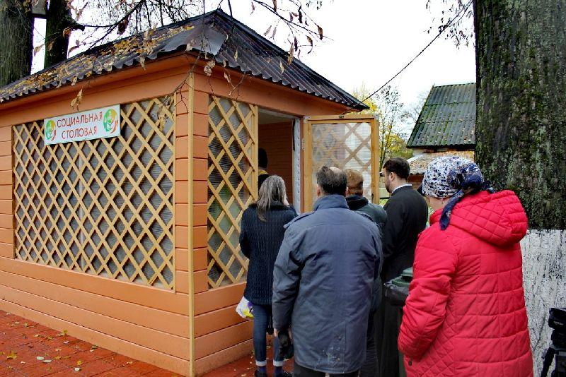 Социальная столовая становится всё более востребованной у жителей Великого Новгорода