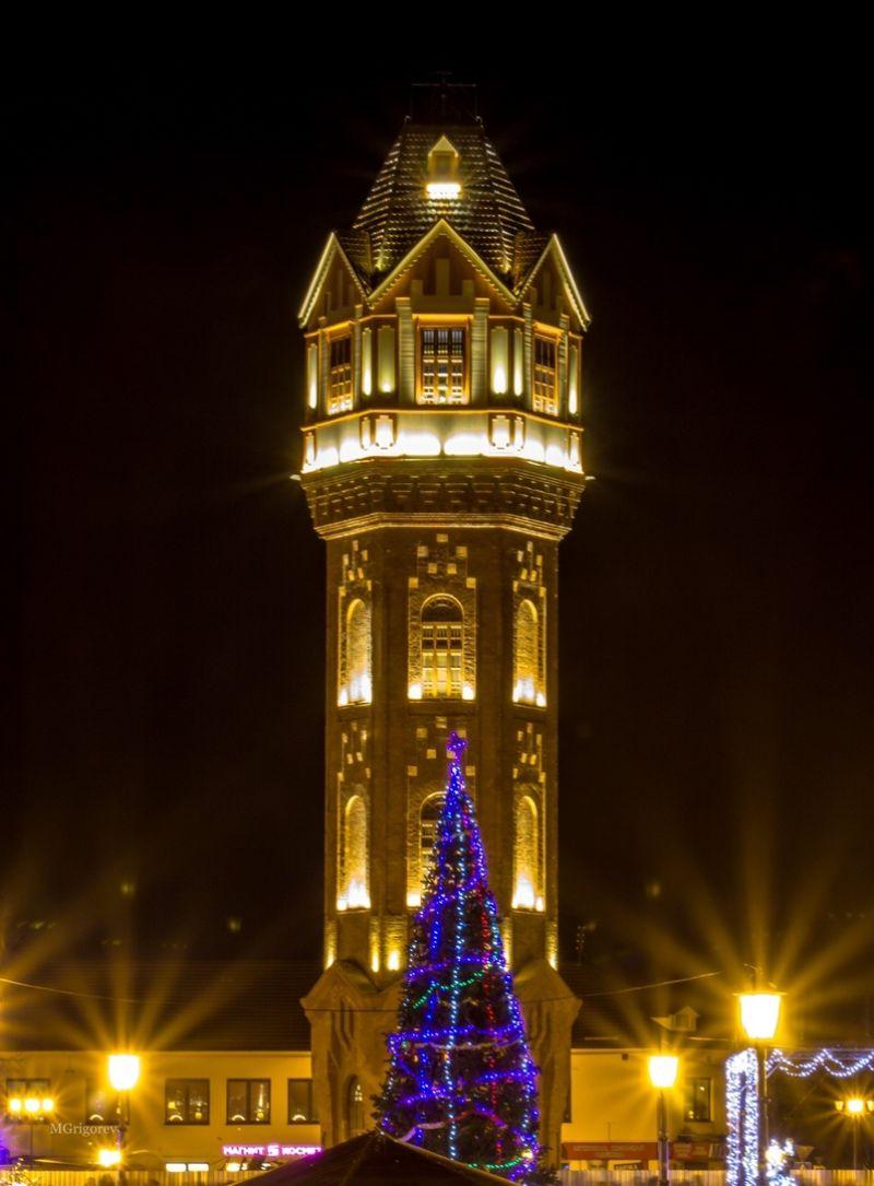 Старая Русса в 2018 году получила 50 млн рублей на реконструкцию водонапорной башни.