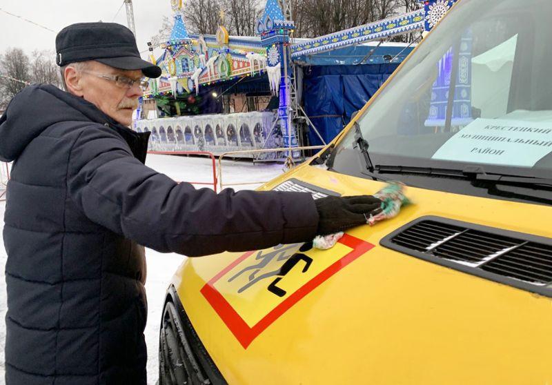 35 школьных автобусов пришли в Новгородскую область.