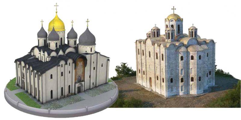 София Новгородская и Полоцкая (вид до XVIII века).