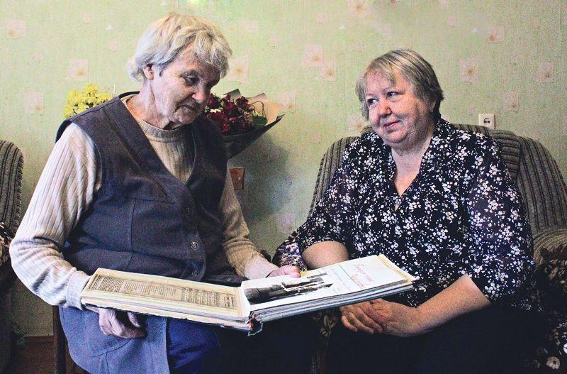 Раиса Леонтьевна и Ирина Владимировна Черемновы.