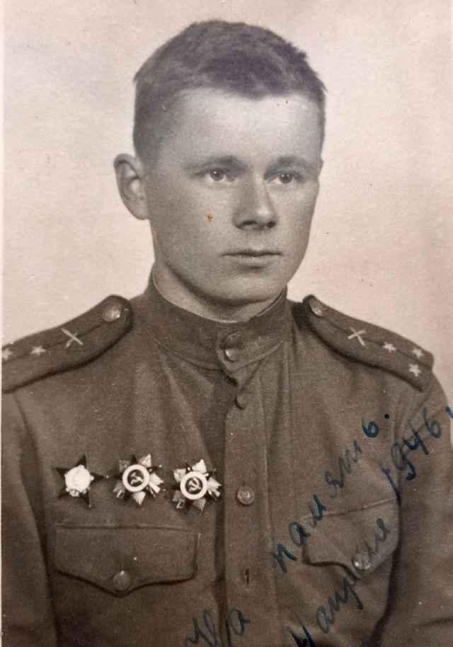 Владимир Гормин, 1946 год, Румыния.