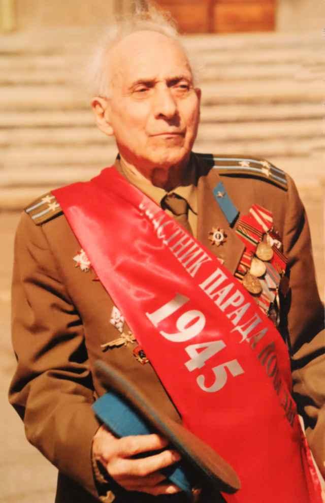 Участник Парада Победы 1945 года Леонид Евдокимов