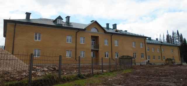 Готовится к сдаче новый жилой корпус на 80 мест