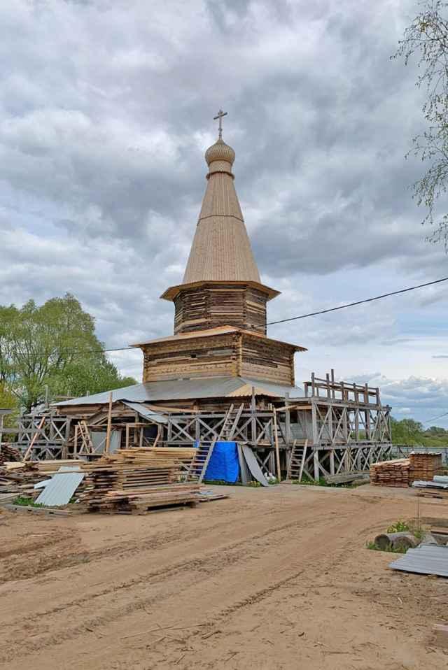 Храм Успения Богородицы, 25 мая 2020 года.
