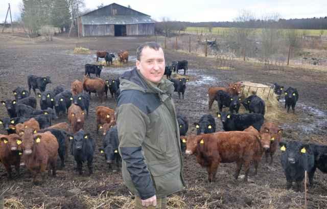 Фермер Николай Проценко ставку делает на передовые технологии выращивания и откорма скота